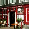 Kanal kenarında bir cafe, Amsterdam