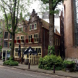 Ara sokaklarda eğik evler, Amsterdam