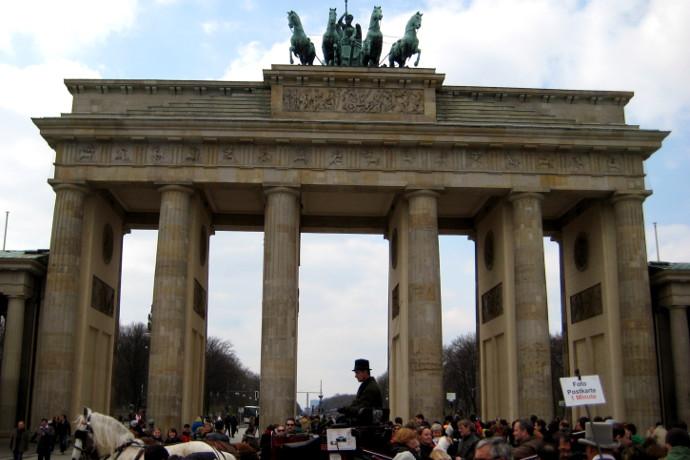 Brandenburg Kapısı, Berlin