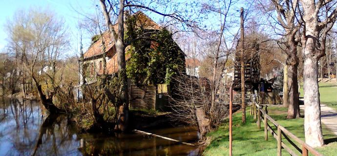 Schwalheim'da Su Değirmeni