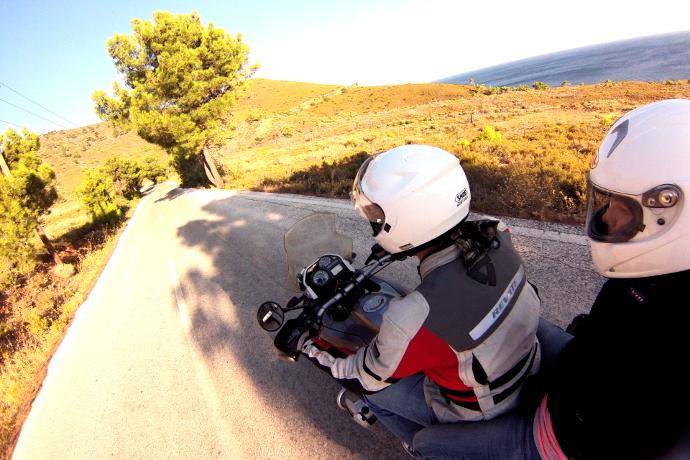 Motosikletle Midilli Bir Başka Güzel