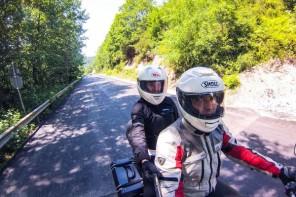 Kerpe Yolu Motosiklet Selfie