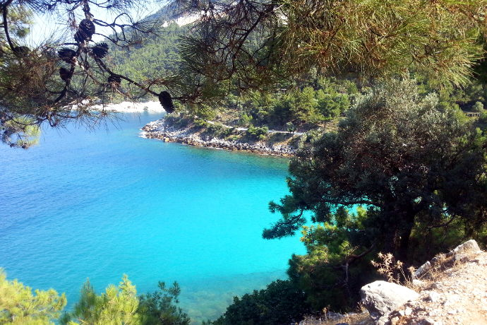 Yunanistan'da 1300 km: Alexandroupoli, Thassos, Kavala