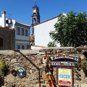 Meşhur Çiçek Fırını ve Kilise, Bozcaada