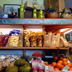 Lugana'da bir market