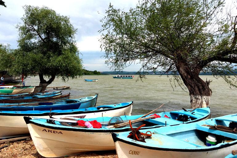 Tekne ve Leylekleriyle Gölyazı